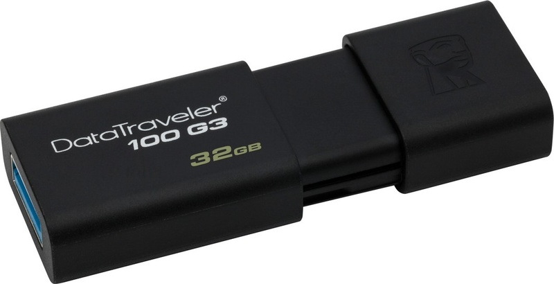 Флешка USB Kingston 32GB DT100G3 USB3.0